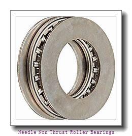 0.5 Inch | 12.7 Millimeter x 0.75 Inch | 19.05 Millimeter x 0.75 Inch | 19.05 Millimeter  IKO BHAM812  Needle Non Thrust Roller Bearings