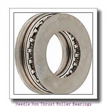 0.669 Inch | 17 Millimeter x 0.787 Inch | 20 Millimeter x 0.807 Inch | 20.5 Millimeter  IKO IRT1720  Needle Non Thrust Roller Bearings