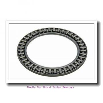 0.438 Inch | 11.125 Millimeter x 0.625 Inch | 15.875 Millimeter x 0.765 Inch | 19.431 Millimeter  IKO IRB712  Needle Non Thrust Roller Bearings